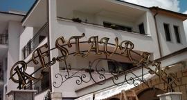 "Неонова реклама с метални обемни букви ""Restaurant"" Слънчев бряг"