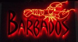 "Реклама от неон ""Barbados"" Слънчев бряг"
