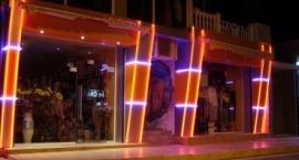 Външно фасадно осветление магазин Свети Влас