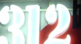 """Неонова реклама """"312"""" Слънчев бряг"""
