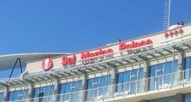 """Светещи обемни букви хотел """"Sol Marina Palace"""" Несебър"""