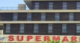 "Неонова реклама ""Supermarket"" Слънчев бряг"