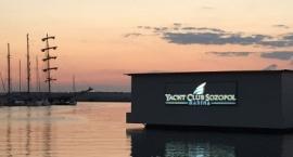 Светещи led обемни букви Яхт Клуб Созопол