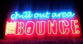"Неонова реклама ""The Bounce"" Слънчев бряг"