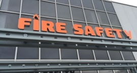 "Обемни букви  фирма ""Fire Safety"" Бургас"