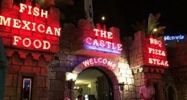 "Неонова реклама ""The Castle"" Слънчев бряг"
